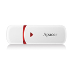 Apacer AH333 Flash Drive 16 GB สีขาว