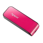 Apacer AH334 FlashDrive 32GB สีชมพู