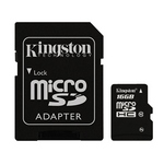 Kingston Micro SDHC Class10 Memory Card 16GB