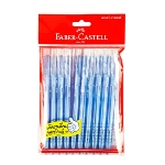 Faber-Castell RX5 Ball Point Pen 0.5mm. (10/Pack) Blue