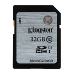 Kingston SDHC Class 10 Memory Card 32 GB (SD10V)