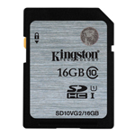 Kingston SDHC Class 10 Memory Card 16 GB (SD10V)