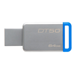 แฟลชไดร์ฟ Kingston Data Traveler 50 64GB (DT50)