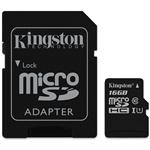 Kingston MicroSD UHS-I Class10 MemoryCard 16GB (SDCS)
