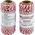 Boston Red & White Twine 20 m.
