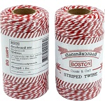 Boston Red & White Twine 80 m.